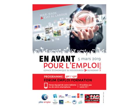 Alter Interim présent au forum En Avant pour l''emploi - Guingamp